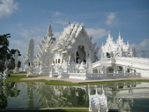 Det hvide tempel i thailand